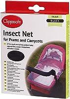 Clippasafe Pram & Carrycot Insect Net - Black