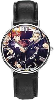 BTS Bulletproof Youth League Modetrend Student Kijk jongen Meisje Neutraal Kwarts Waterdicht Horloge Geschenk Polsband Arm...