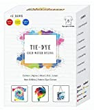 Available in 8 unique variants 5g dye colours inside that makes 100mL colour solution. Just add water in the bottles and shake for use. Tie Dye up to 5 t-shirts. Available in 10 Tie Dye Colours, Applicable on all types of fabrics except polyester. DI...
