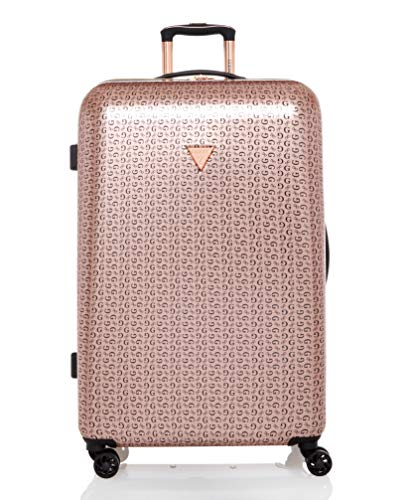 Guess Burnley Collection 28' 8-Wheeled Spinner Hardside in Rose Gold