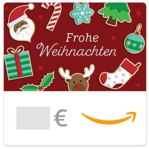Digitaler Amazon.de Gutschein (Weihnachtsplätzchen)