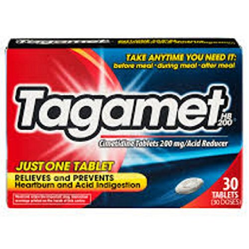 Tagamet Acid Reducer 200mg 30count Tablets 30 Count