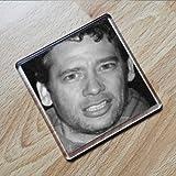 DEXTER FLETCHER - Original Art Coaster #js001