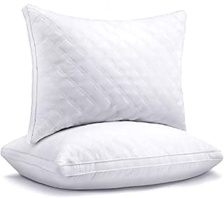 Sable Hotel Pillows for Sleeping 2 Pack Queen, Goose Down Alternative Pillows for Sleeping Side Sleeper Super Soft Plush F...