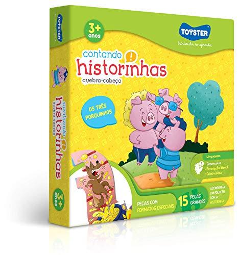 Contando Historinhas 3 Porquinhos Toyster Brinquedos