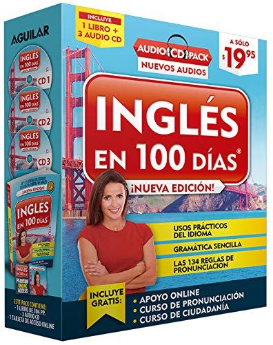 Inglés En 100 Días - Curso de Inglés - Audio Pack (Libro + 3 CD's Audio) / English in 100 Days Audio Pack