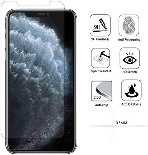 2X Panzerfolie Schutzglas Verbundglas Displayfolie Displayglas Glas Folie 9H kompatibel mit Huawei Nova 2 Plus - 2