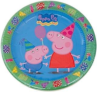 Peppa Pig Luncheon Plates
