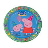 Peppa Pig - Set de 8 platos, 23 cm (Verbetena 016000721)