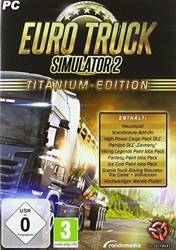 Euro Truck Simulator 2 - Titanium Edition [Importación alemana]