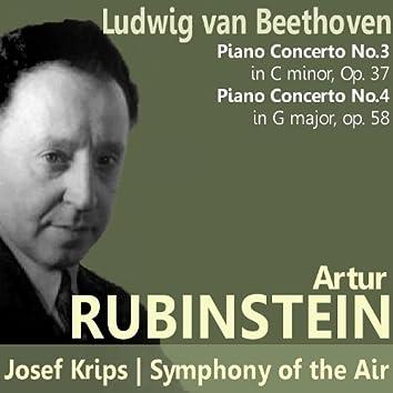 Beethoven: Piano Concertos No. 3 and No. 4
