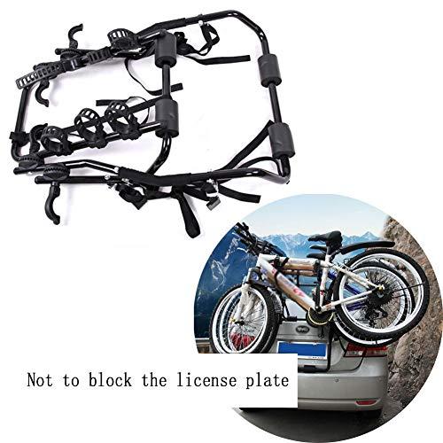 LJIANW Portabicicletas for Coche, Bastidor De Bicicleta Montado En La Parte Trasera...