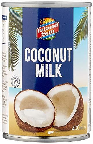 Island Sun Kokosmilch 6% Fett, 6er Pack (6 x 400 ml)