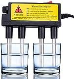 LIUZKH Medidor de calidad del agua Inodoro y útil Calidad del agua Electrolyzer Hogar Probador de calidad del agua Electrolisis Barras de hierro para pruebas rápidas