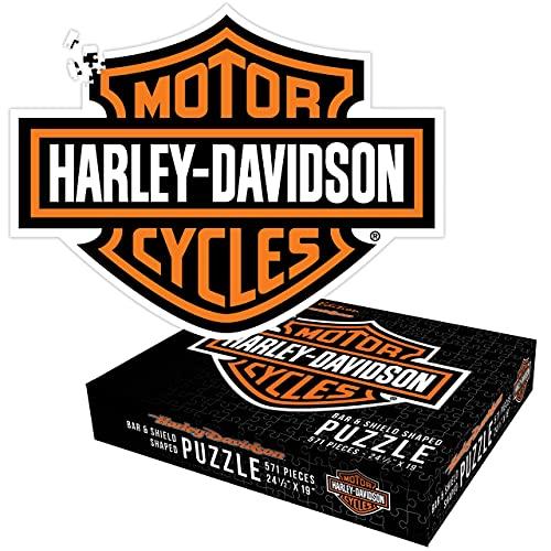 HARLEY DAVIDSON Harley-Davidson Bar & Shield Puzzle 571 Teile 62,23 cm x 48,26 cm Spielzeug