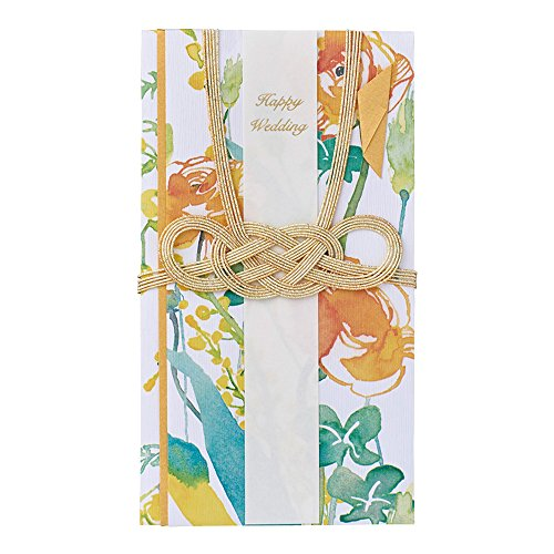 マルアイ 祝儀袋 結婚式 デザイン 洋風 花柄 花言葉 ルブーケ ラナンキュラス 1枚 キ-BQ10Y
