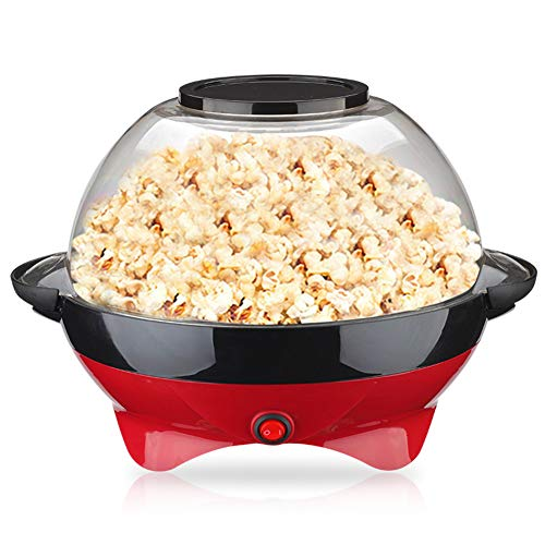 Fantastic Prices! LAHappy Popcorn Maker, Electric Popcorn Maker Machine 2 in 1 lid Bowl for Healthy ...