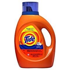 Amazing Tide clean from America's #1 selling detergent This liquid laundry detergent is the Tide you love, now with 10x the cleaning power New 'Designed for Delivery' bottle will make your online shopping easier Infused with the Original Scent you lo...