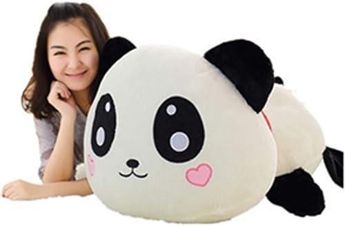 LAIBAERDAN Peluche Jouet Fille Oreiller Poupée Panda Poupée De Mariage en Peluche Poupée Cadeau De Vacances 25-35-55-70-80Cm, 70Cm