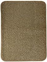 奥特殊紡績 ペット用品 砂落とし&おしっこ消臭シート ターフマット(消臭マット) 45×60cm 2枚組セット ブラウン