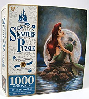 Disney Parks Exclusive Signature Ariel Little Mermaid 25th Anniversary 1000 Pc. Puzzle by Disney