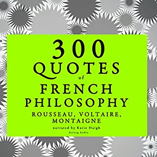 300 Quotes of French Philosophy audiobook cover art