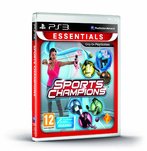 NEW & SEALED! Sports Champions Essentials Move Sony Playstation 3 PS3 Game UK