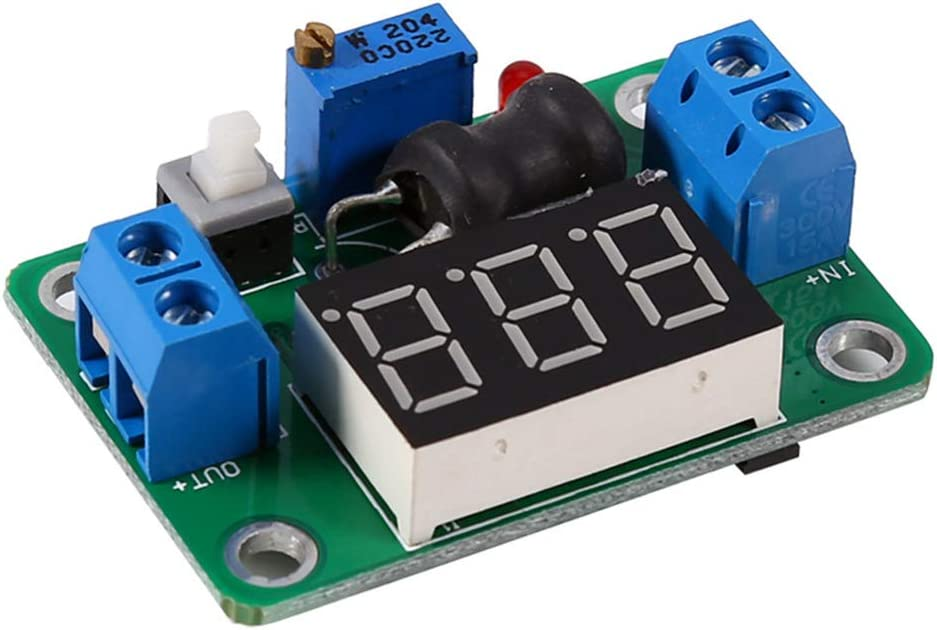 Stayhome 1pcs DC Converter 24V to 5V Buck Power Converter DC 4.5V-24V 24V 12V to DC 1-20V 12V 5V 2A Adjustable Step Down Regulator Board