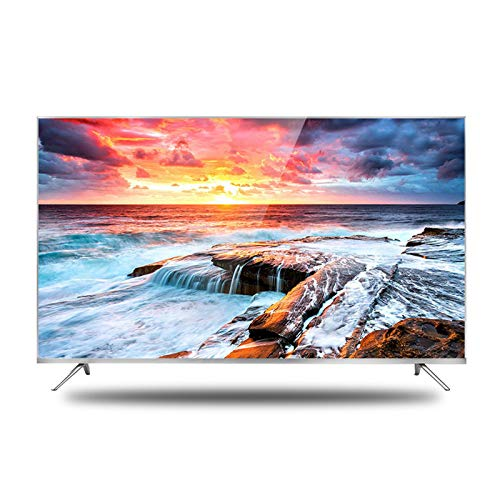 LYYAN Televisor Curvo Ultra HD, 32/42/50/55/60 Pulgadas Televisor LCD montado en la Pared 170 ° Gran Angular 780P 4K UHD Direct Full Array HDR Android TV Frecuencia de Flash 60Hz