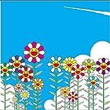 限定100枚 村上隆 版画 夏の青空に飛行機雲 カイカイキキ Oz Zingaro