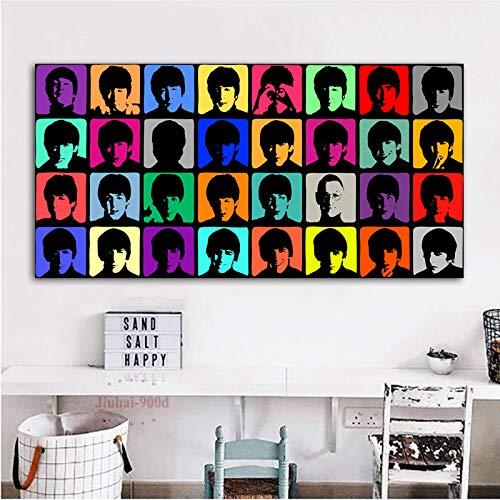 Flduod Andy Warhol Portret Posters En Prints canvas schilderij Wall Art Pictures voor Woonkamer Slaapkamer Modern Home Decor60x120cm
