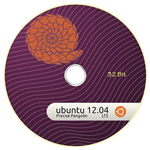 Ubuntu 12.04 Linux Precise Pangolin 2 CDs (32 & 64 Bit)