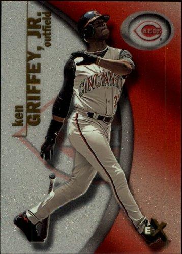 2001 E-X Baseball Card #23 Ken Griffey Jr.