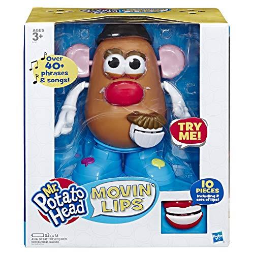 Mr Potato Head Playskool Movin' Lips Electronic Interactive Talking Toy for Kids...