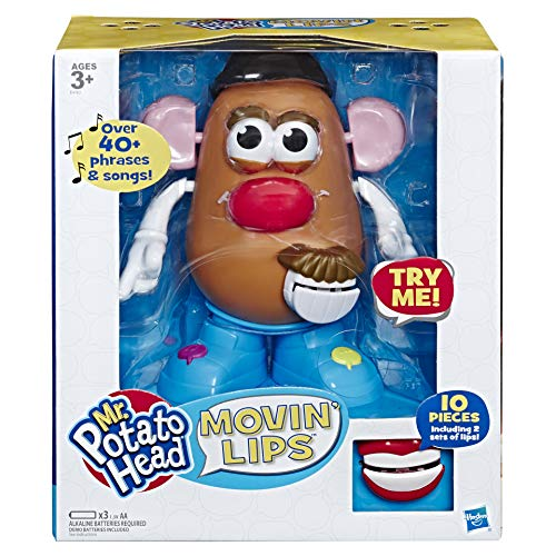 Potato Head Playskool Mr Movin' Lips Electronic Interactive Talking Toy for Kids...
