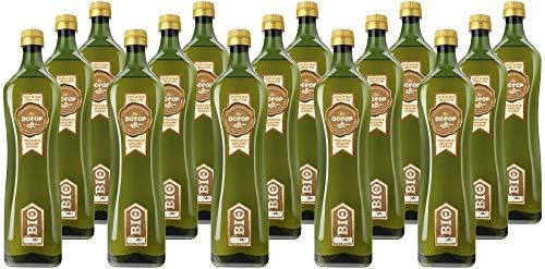 DCOOP Aceite de Oliva Virgen Extra Bio - Ecológico, Especial Cooperativas, Pack 15 x 1 litro