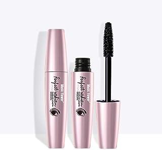 Mascara Waterproof by Music Flower Black 3X Dazzled Length Thick Curling Eye Make Up Long lasting Smudge-proof Eyelash