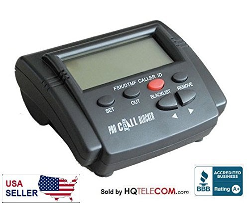 PRO Call Blocker by HQTelecom - Block Unwanted Calls - Latest Version Available, Black Edition, Model:CT-CID803 VER_N2, Office Accessories & Supply Shop