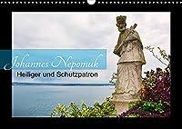 Johannes Nepomuk - Heiliger und Schutzpatron (Wandkalender 2022 DIN A3 quer): Klassische und moderne Darstellungen des heiligen Johannes Nepomuk (Monatskalender, 14 Seiten )