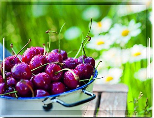 Emsa 515690 Tablett mit Cherry Dekor, Größe 50 x 37 cm, Classic