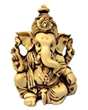 "JB Premium 3.5"" Lord Ganesh/Ganesha Statue Sculpted in Great Detail with Antique Finish – Ganesh Idol for Car/Home Decor/Mandir/Gift. Hindu God Idol."