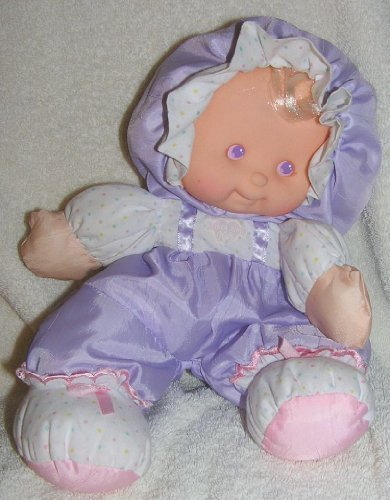 Vintage Fisher Price Puffalumps 'Heidi-Lavender' Puffalump Kids Doll