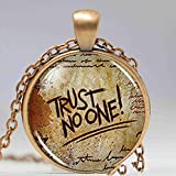 Steampunk Drama Gravity Falls Mysteries Bill Cipher Wheel Party Time God Trust Nadie, Collar con colgante Doctor Who