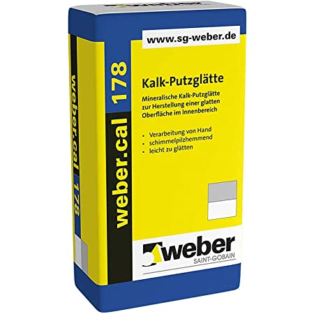 Weber.cal 288 Kalk-Filzputz 0,5 mm
