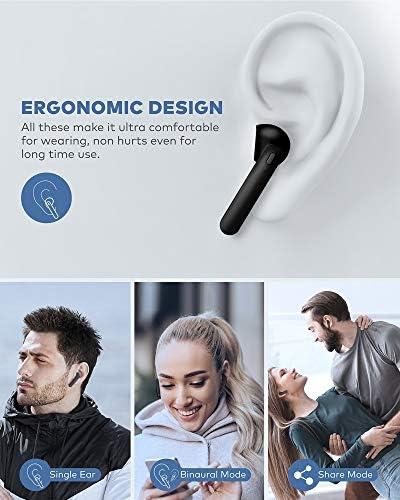 Hntmao IPX7, Waterproof, Bluetooth Earbuds