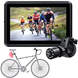 Bike Mirror Camera with 4.3 Inch Screen and 145° Wide Rear View Angle,Clear Night Vision,Perfect Bicycle Accessories for Mountain,Road Bike Trailer