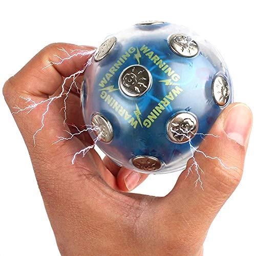 XIAOHONG Electric Shock Ball Hot Potato Game Stress Reliever, Electric Shocking Game Glowing Ball Adventure Funny Novelty Gift Fun Joking for Party Entertainment Toy
