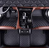 Maiqiken Alfombrillas de Coche Personalizadas para Citroen C4 Aircross Picasso 2006 – 2011, 2009 – 2013, 2014 – 2017 Piel Impermeable Antideslizante Cobertura Completa Alfombrilla Delantera y Trasera