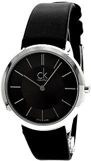 [カルバンクライン]CALVIN KLEIN 腕時計 Minimal(ミニマル) レザーウォッチ ミッド K3M221C4  【正規輸入品】