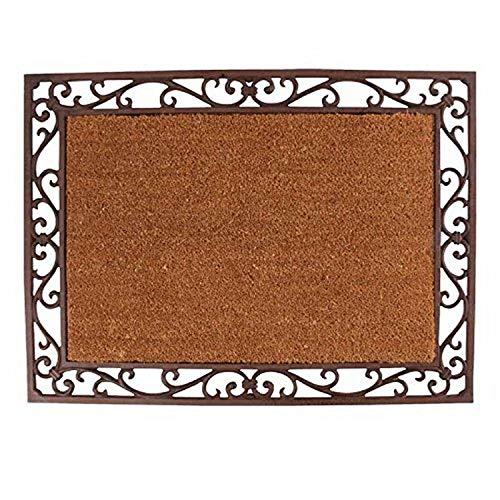 Esschert Design - Ferro e Cocco Cast Tappeto 74 x 54 x 2,2 cm